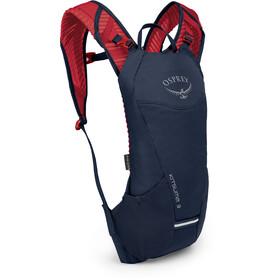 Osprey Kitsuma 3 Hydration rygsæk Damer, blå/rød
